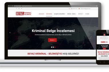 Beyaz Kriminal Web Sitesi