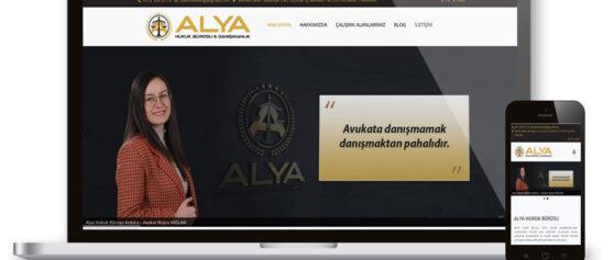 Alya hukuk Bürosu Web Sitesi