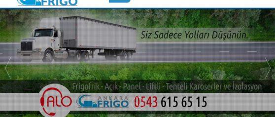Ankara Frigo kurumsal web sitesi yayında…